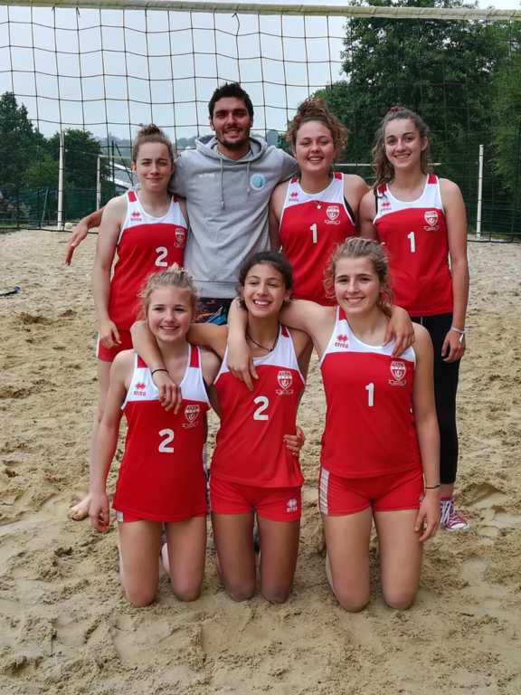 Phase finale coupe de France beach M15
